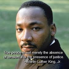 peace justice mlk